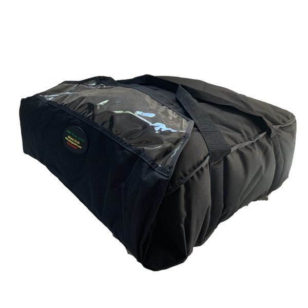 Jumbo insulated delivery bag