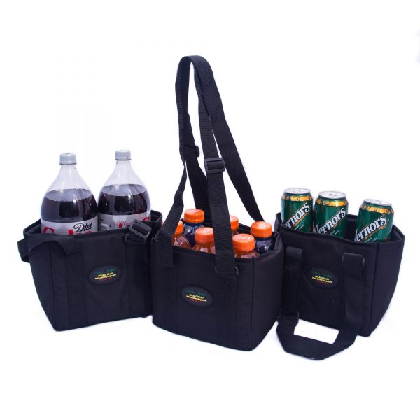 Showcase of drink carrier case capacities