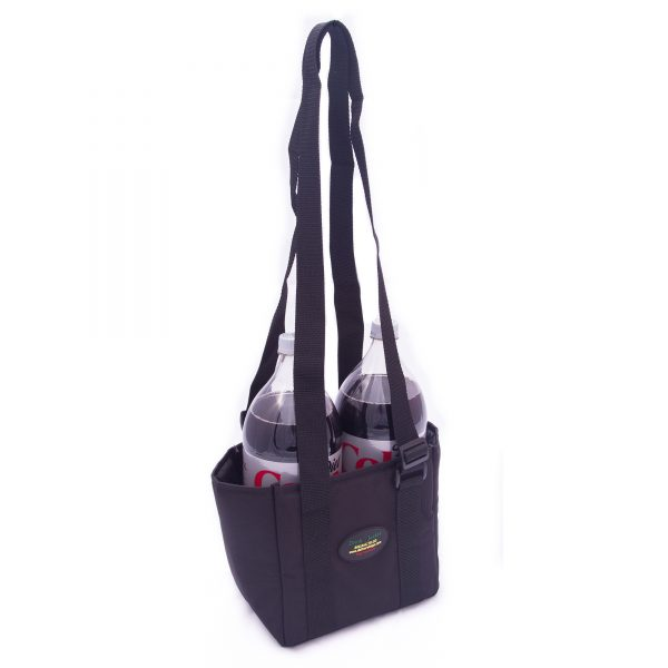 2-liter soda carrying case. Holds 2 bottles.