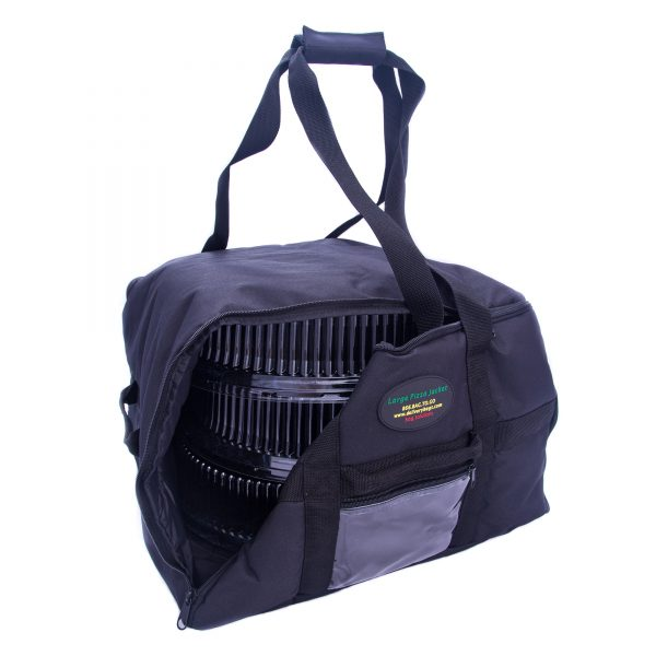 Large pizza bag carrying alternative items