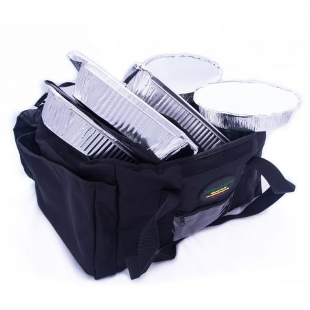 fully loaded large sandwich delivery bag