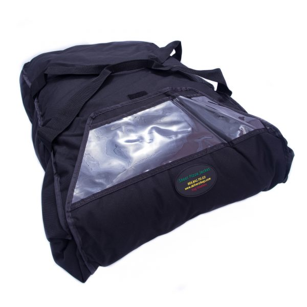 Large pizza delivery bag