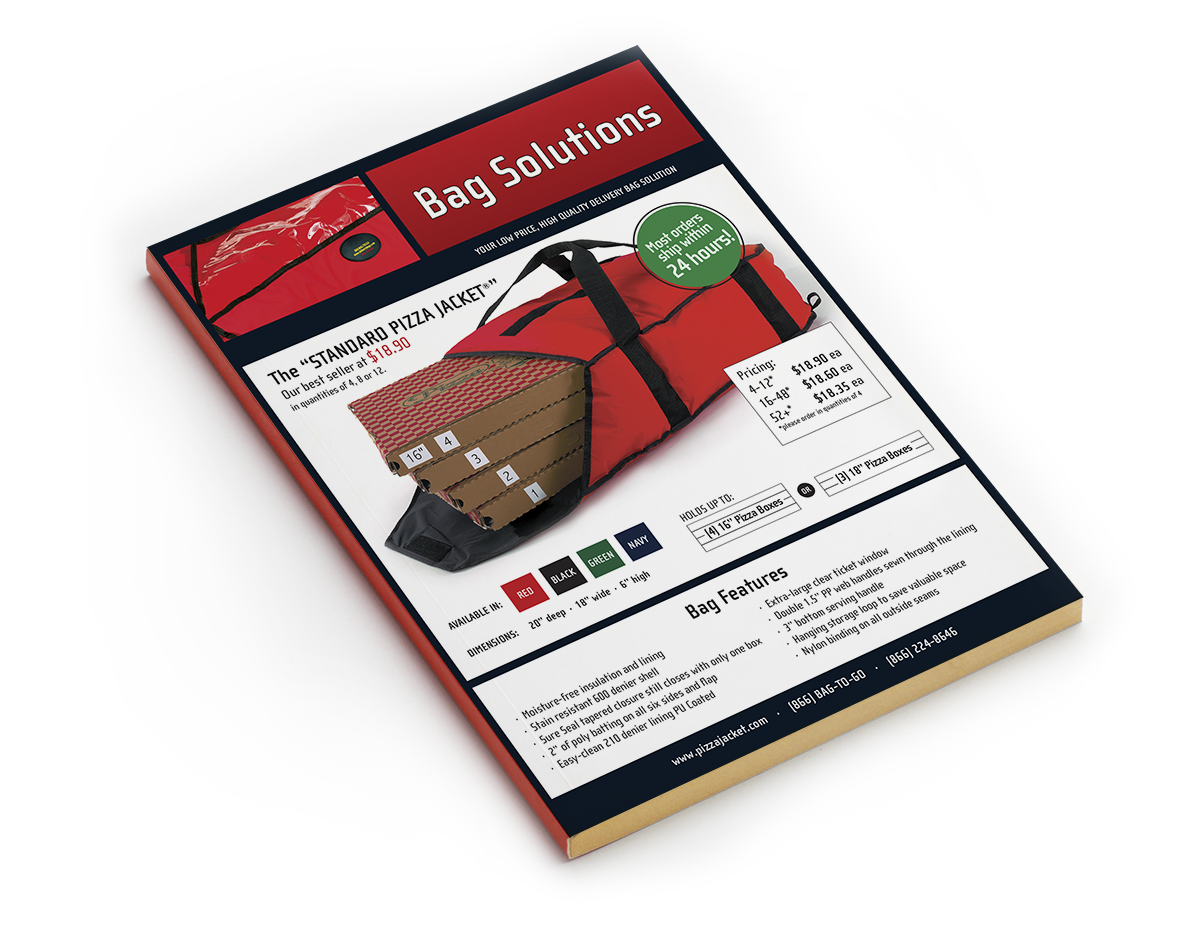 Bag Solutions product catalog